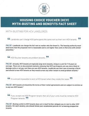 HCV Myths & Benefits